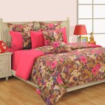 Pink Copper Bed Sheets – COL 2608