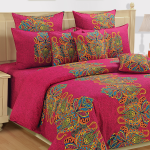 Colors of Life Bed Sheet- 2606