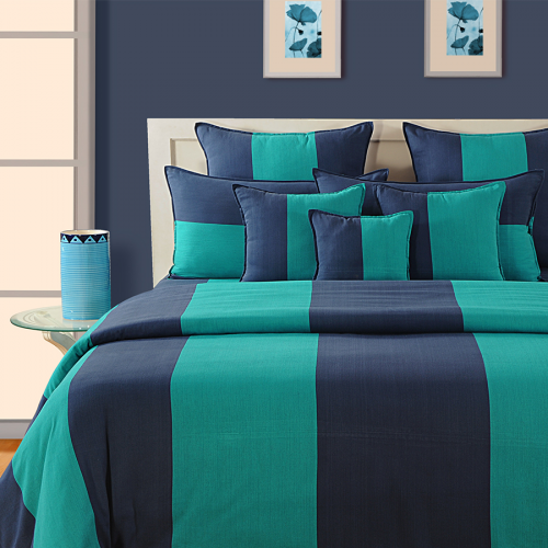 Sea Green Bed Sheets- Magical Linea- 1608