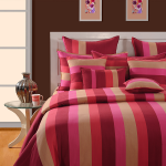 Shades of Pink Bed Sheet- Magical Linea-1505