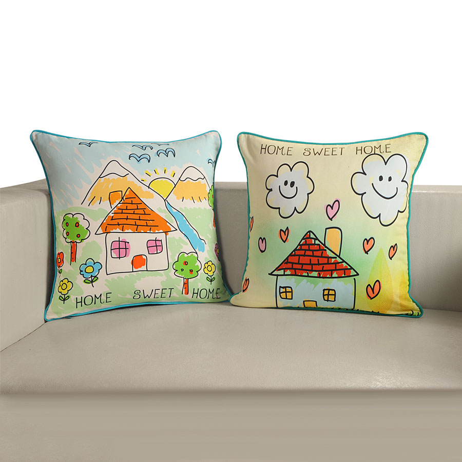 My House Teens Cushion Covers (KCC-202)