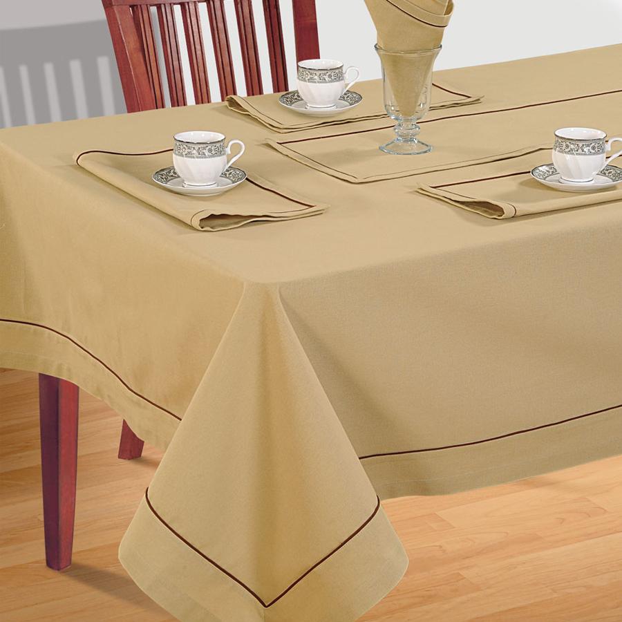 Plain Rectangular Table Linen- 766