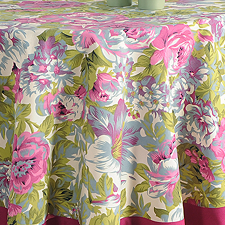 Printed Round Table Linen-1314