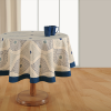 Printed Round Table Linen-1987