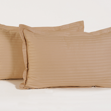 Beige Basic Pillow Cover