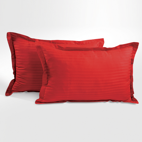 Jazz Pillow Cover - Maroon