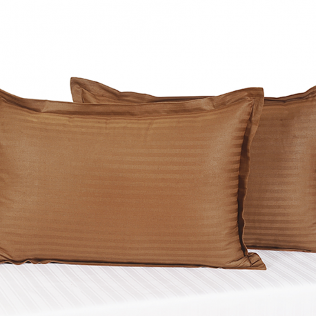 Tango Walnut Brown Pillow Cover