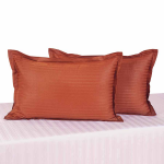 Jazz Rust Pillow Cover