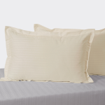 Tango Ivory Pearl Pillow Cover