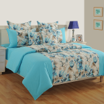 Orchid Charm Shades of Paradise Bed Sheet- 9013