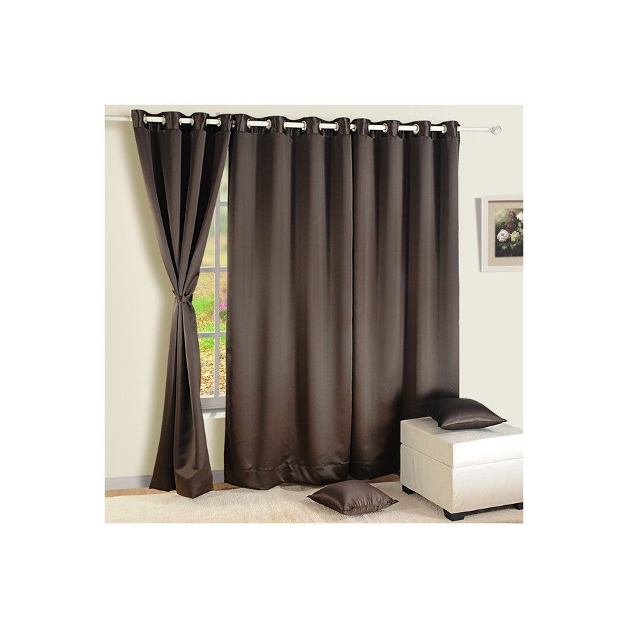 Dark Chocolate Blackout Curtains – 1021