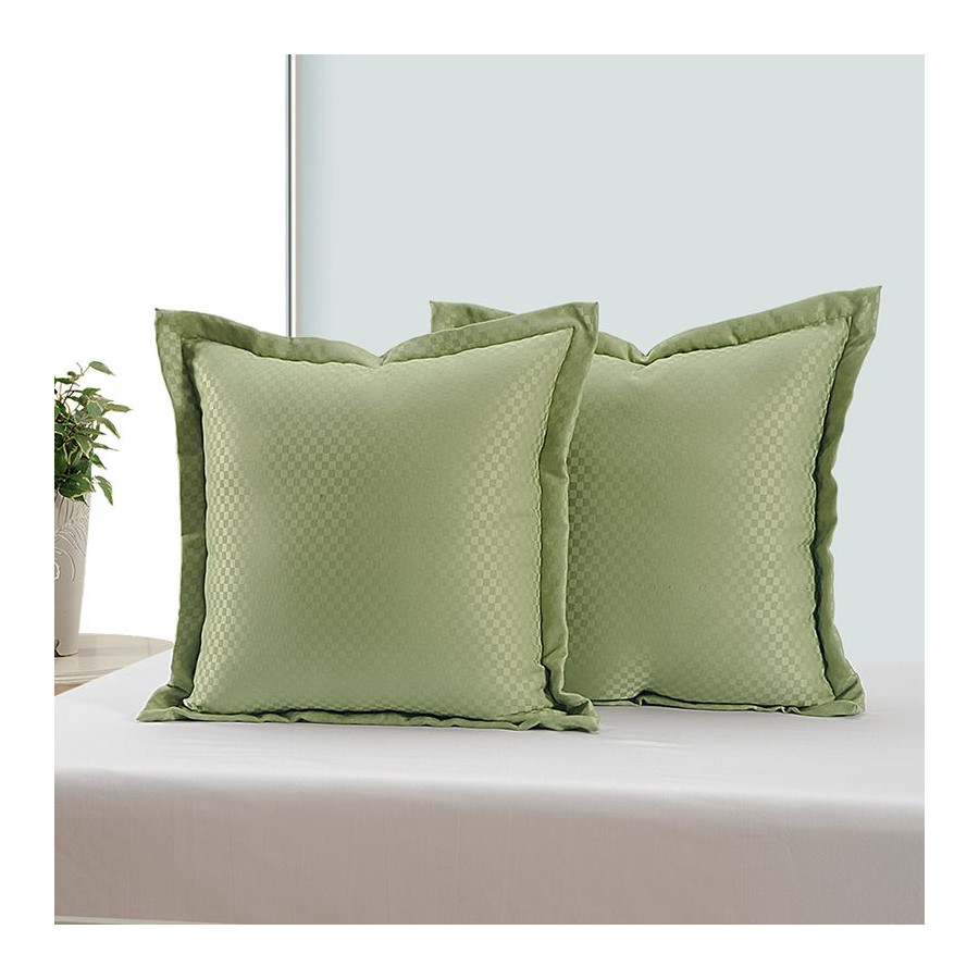 Green Kairo Cushion Cover - 5401