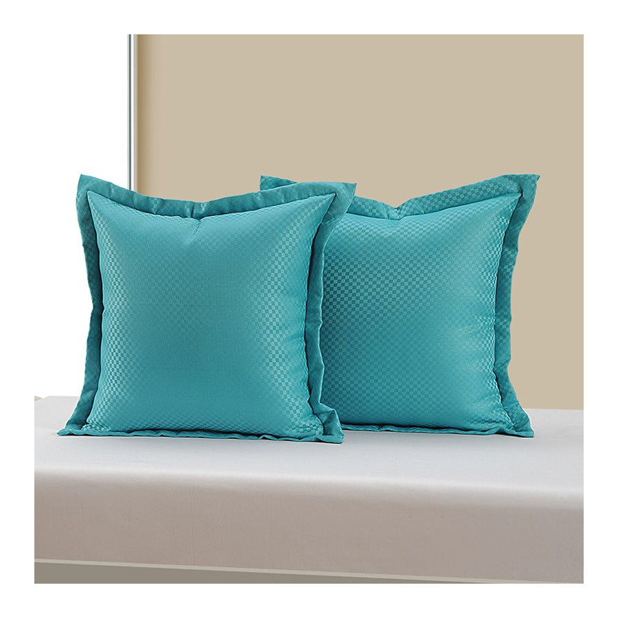 Teal Kairo Cushion Cover - 5406