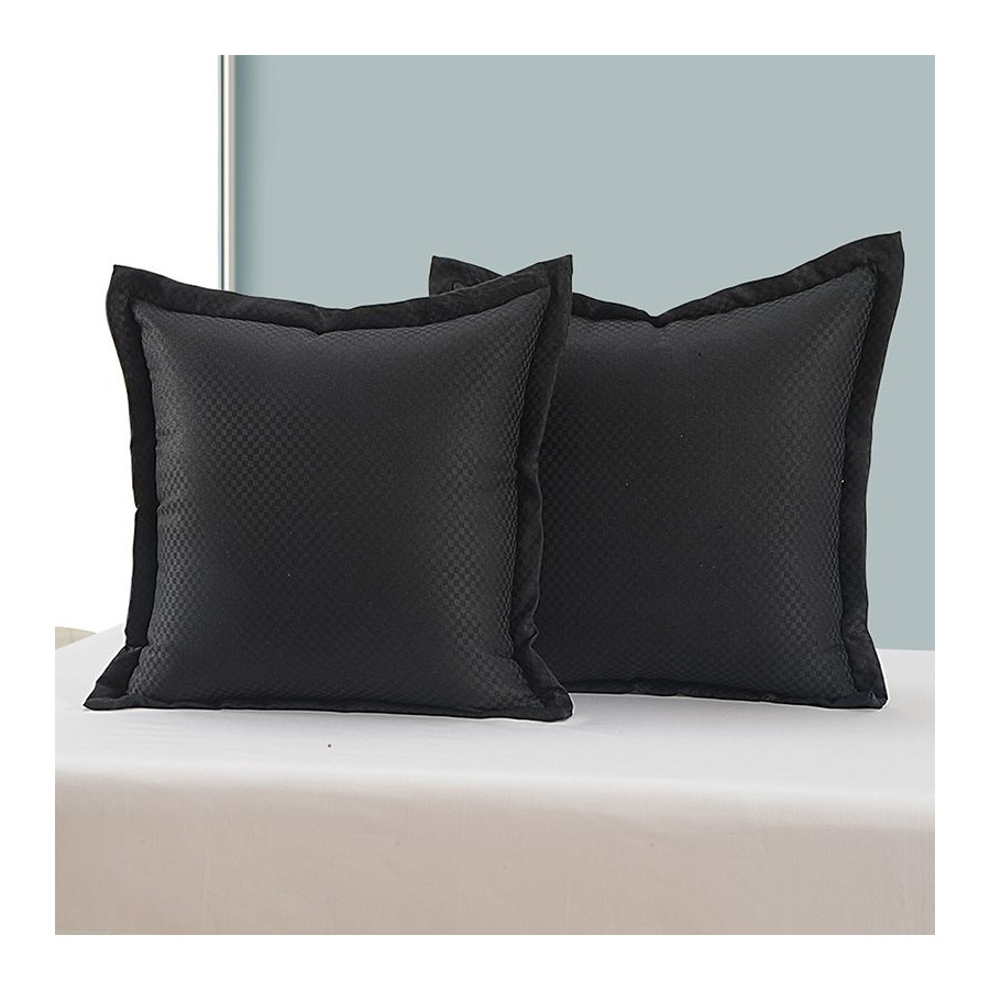Black Kairo Cushion Cover - 5408