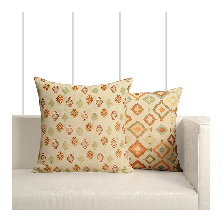 Kilim Cushion Cover 16-07 (Set of 2)