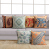 Ethnic Indian Themed Deco Cushion Covers 01 (Set of 6)