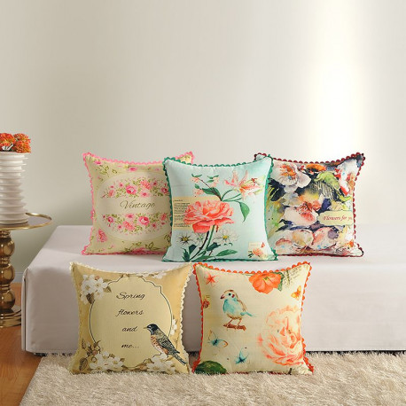 Casement Printed Cushion Covers 2381 (Set of 5))