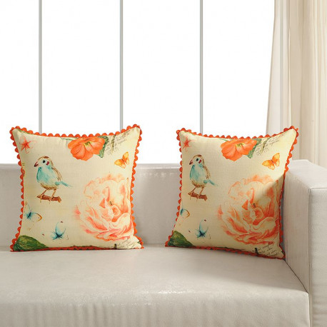 Printed Casement Cushion Covers ACC-02(Set of 2)