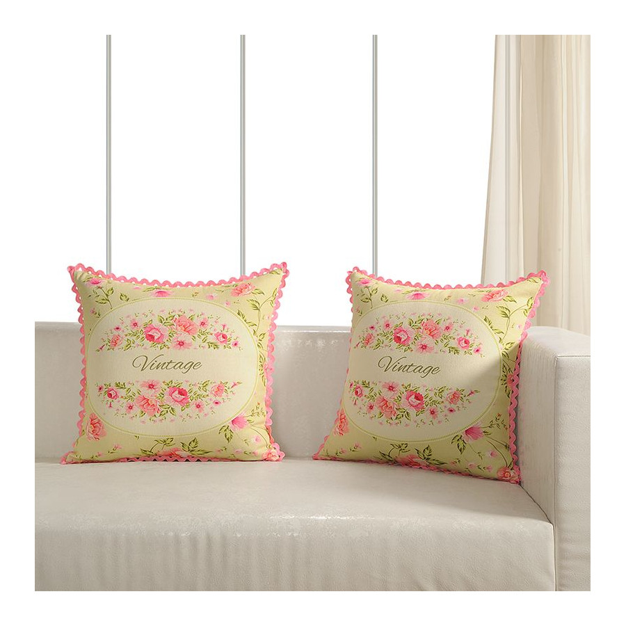 Printed Casement Cushion Covers ACC-13(Set of 2)