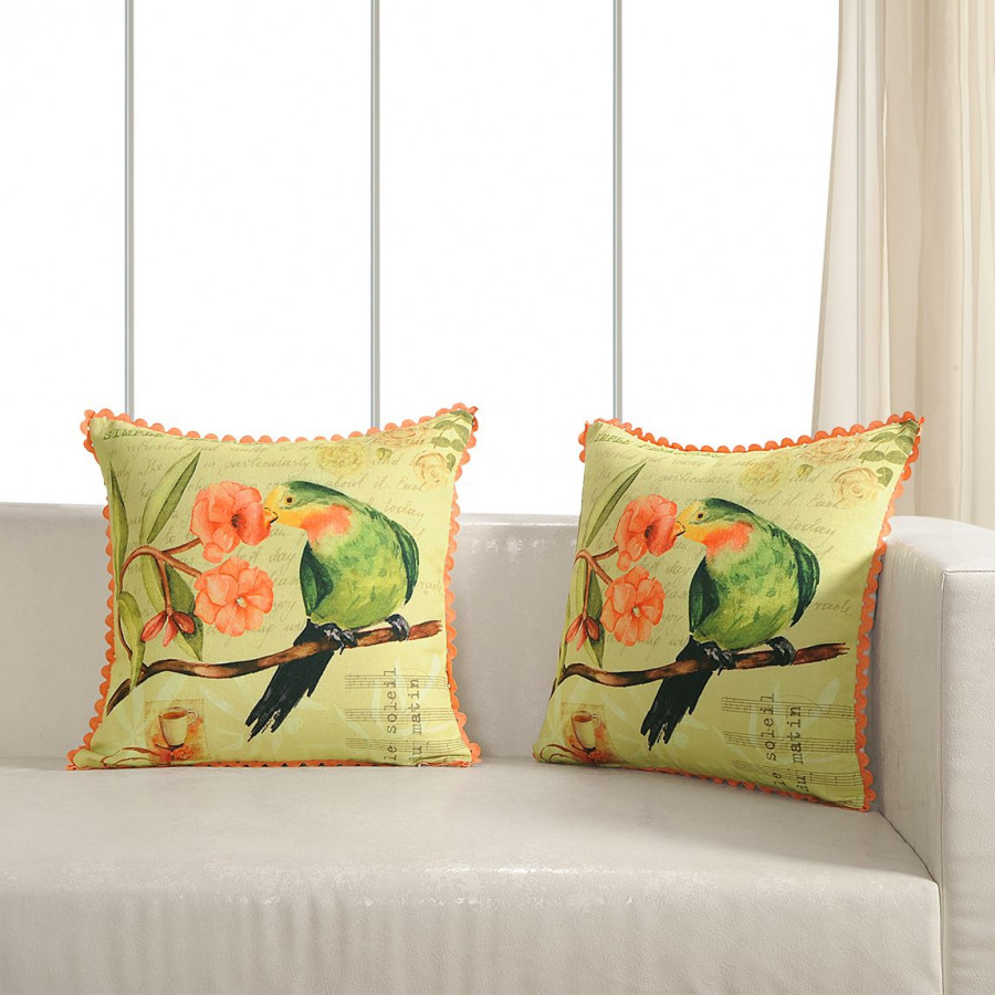 Printed Casement Cushion Covers ACC-14 (Set of 2)