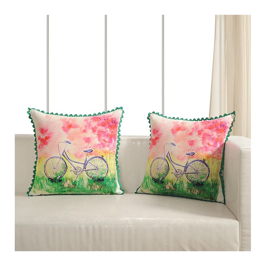 Printed Casement Cushion Covers ACC-15 (Set of 2)