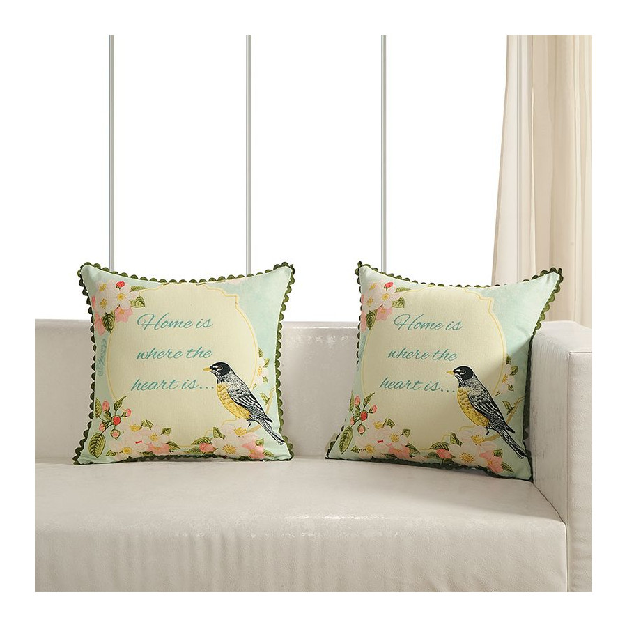 Printed Casement Cushion Covers ACC-16(Set of 2)