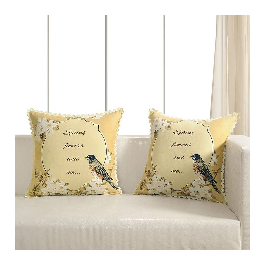 Printed Casement Cushion Covers ACC-17 (Set of 2)