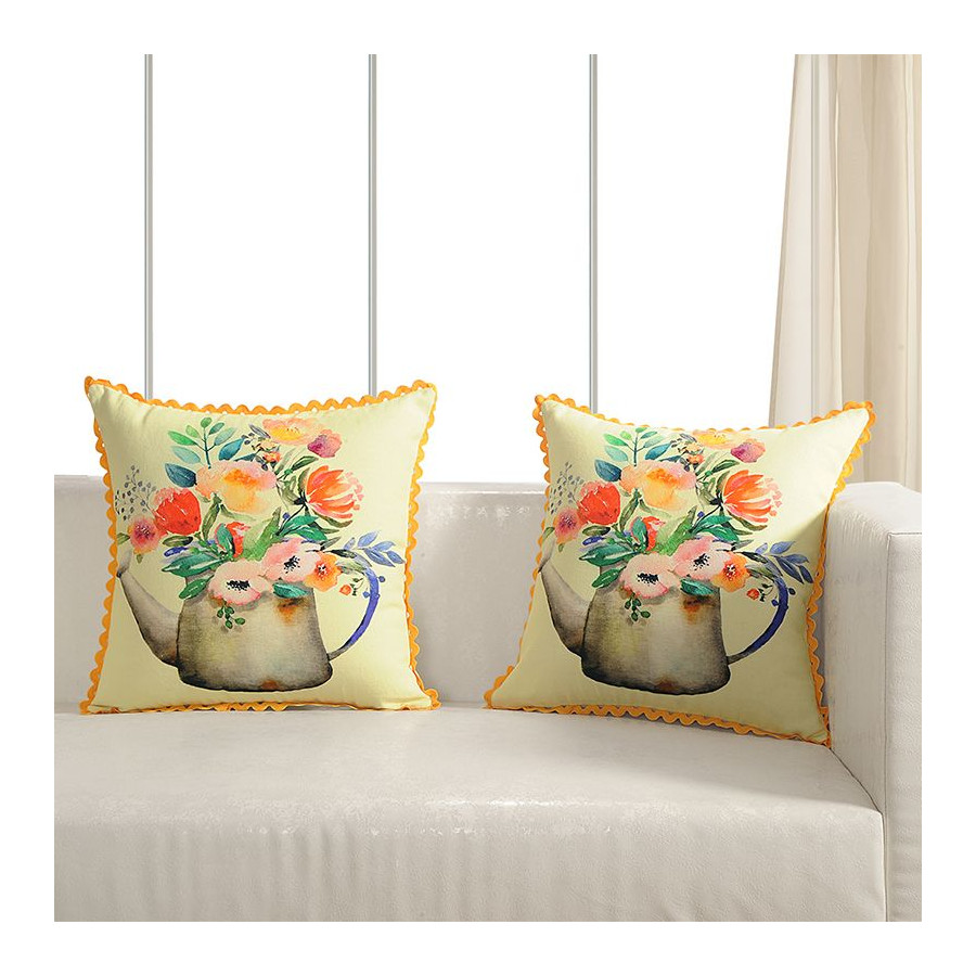 Printed Casement Cushion Covers ACC-18 (Set of 2)