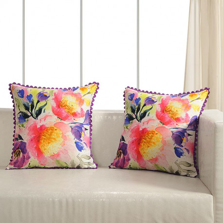 Printed Casement Cushion Covers ACC-19 (Set of 2)
