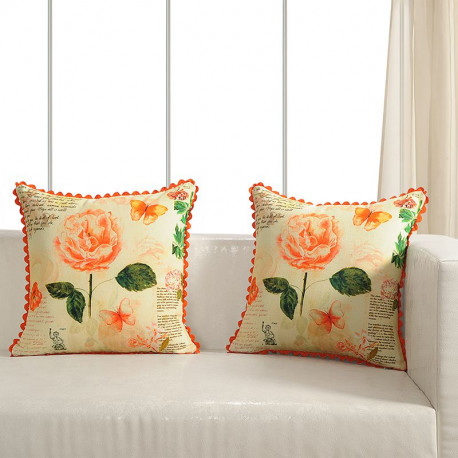 Printed Casement Cushion Covers ACC-20 (Set of 2)