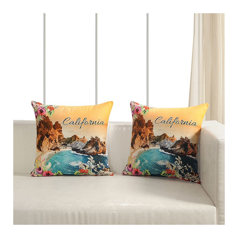 Printed Casement Cushion Covers WTCC- 06 (Set of 2)