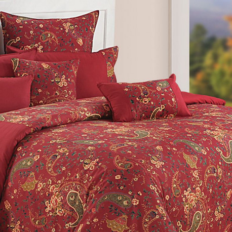 Shades of Paradise Bed Sheet- 3002