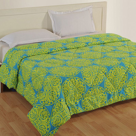 Green Duvet Covers, Comforters and Quilts - 1175