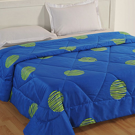 Electric Blue Micro Duvet - 1185