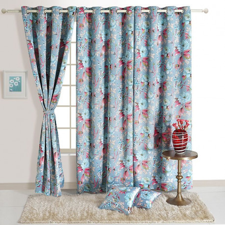 Floral Trend Sigma Curtains – 8109