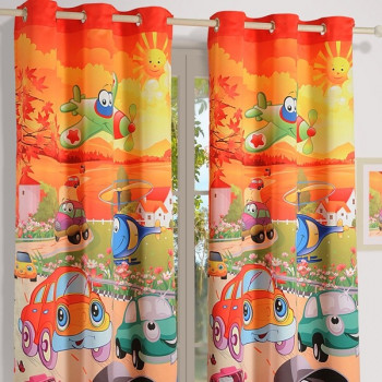 Cars Kids Curtains-182