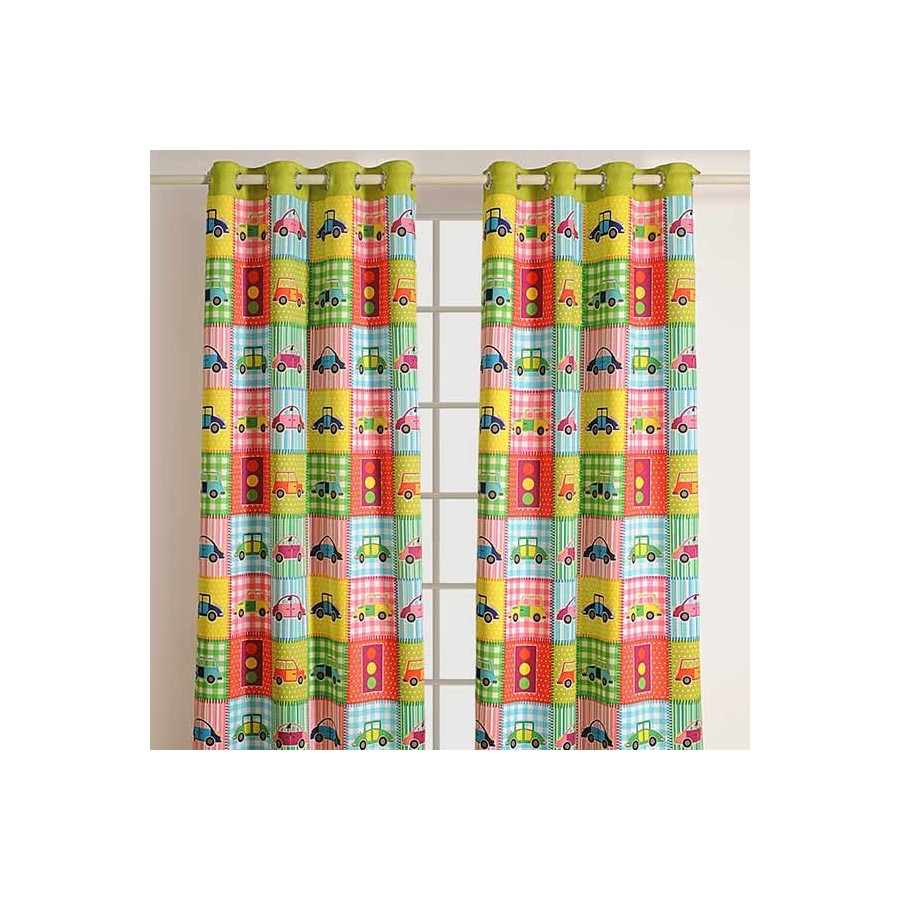 Kids Curtains- Cars -1001