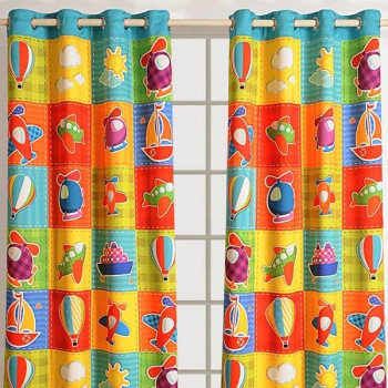 two printed kids curtains white p bear panels for colorful