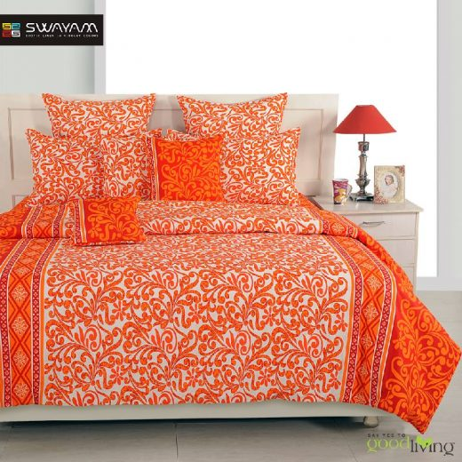 cotton double bed sheets online