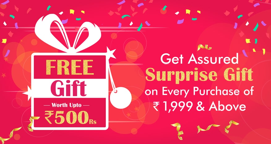 Free Gift on Purchasing