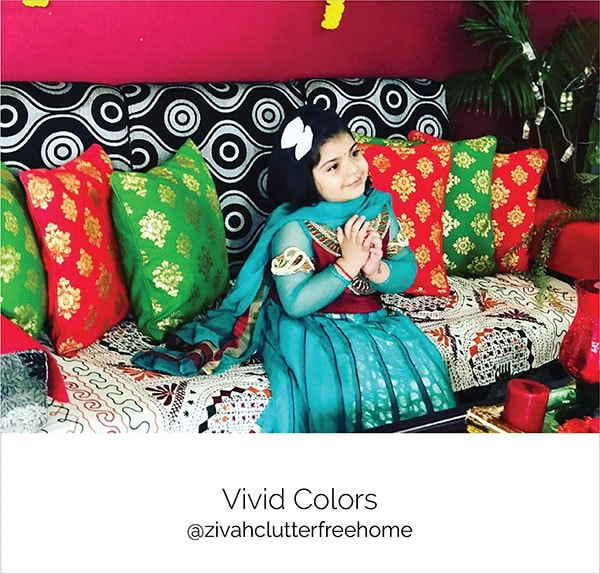 Buy Vivid Colors in Cushions